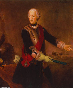 Antoine Pesne - Prince Augustus William of Prussia