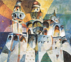 Aristarkh Vasilevich Lentulov - Bells. Ivan the Great Bell