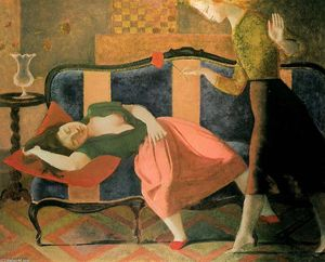 Balthus (Balthasar Klossowski) - The Dream