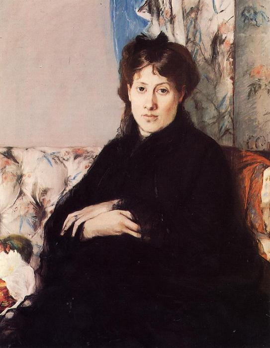 famous painting Portrait of Madame Edma Pontillon of Berthe Morisot
