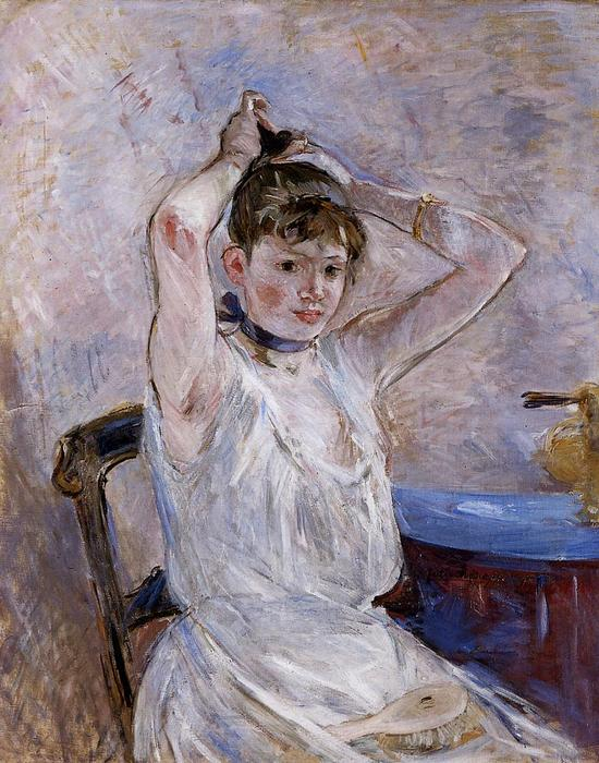famous painting The Bath of Berthe Morisot