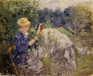 Berthe Morisot - In the Bois de Boulogne
