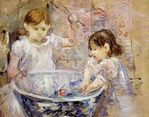 Berthe Morisot - Children at the Basin