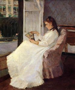 Berthe Morisot - The Artist's Sister at a Window
