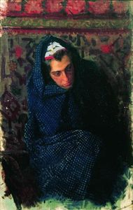 Boris Mikhaylovich Kustodiev - Portrait of a Woman