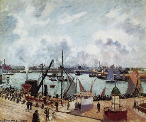 Camille Pissarro - Outer harbour of Le Havre