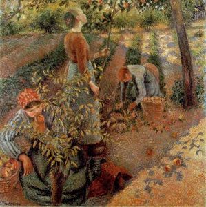 Camille Pissarro - The Apple Pickers