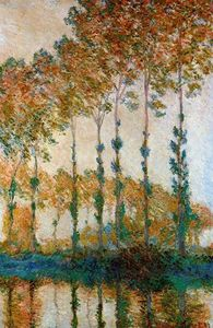 Claude Monet - Poplars on the Banks of the Epte, Autumn