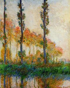 Claude Monet - The Three Trees, Autumn
