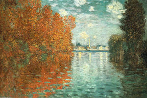 Claude Monet - Autumn Effect at Argenteuil