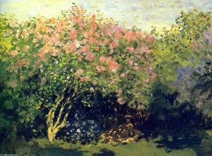 Claude Monet - Lilacs in the Sun