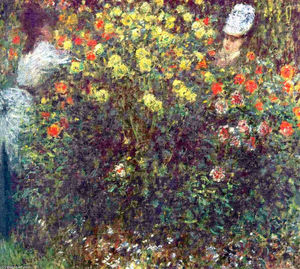 Claude Monet - Girls in the Garden