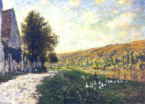 Claude Monet - The Banks of the Seine, Lavacourt 02