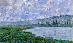 Claude Monet - The Seine and the Chaantemesle