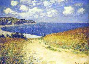 Claude Monet - Alley near Pourville