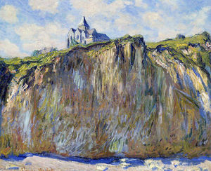 Claude Monet - The Church at Varengeville