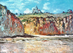 Claude Monet - The Church at Varengeville 02