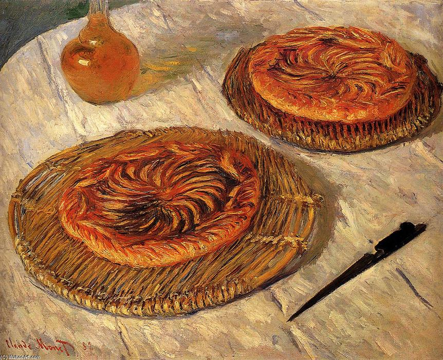 famous painting The Galettes of Claude Monet