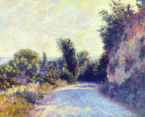 Claude Monet - Road near Giverny 02