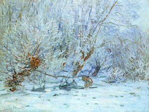 Claude Monet - The Frost