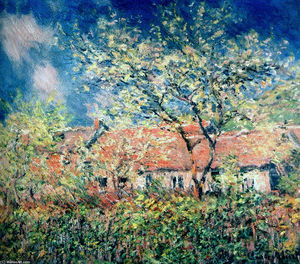 Claude Monet - Springtime at Giverny