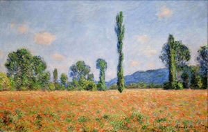 Claude Monet - Poppy Field in Giverny 02