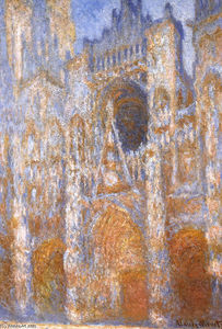 Claude Monet - Rouen Cathedral, The Portal at Midday