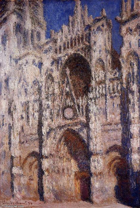 famous painting Rouen Cathedral 01 of Claude Monet