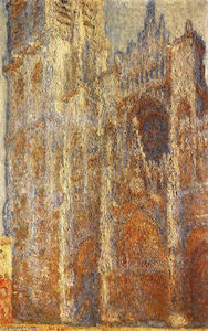 Claude Monet - Rouen Cathedral at Noon