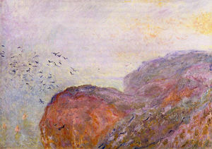Claude Monet - Cliff near Dieppe
