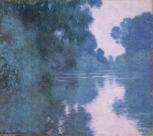 Claude Monet - Morning on the Seine near Giverny 02