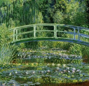 Claude Monet - The Japanese Bridge (The Water-Lily Pond)