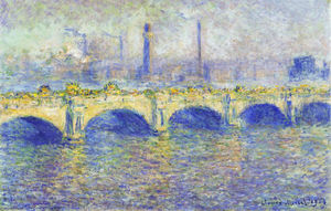 Claude Monet - Waterloo Bridge, Effect of the Sun