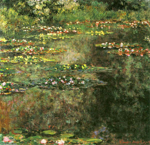 Claude Monet - Water Lilies (9)