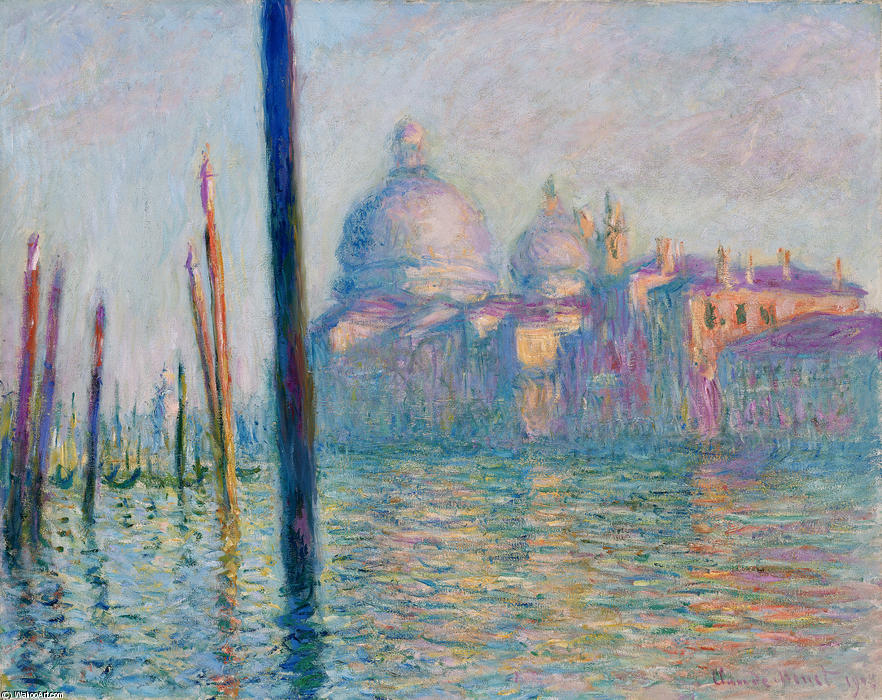 famous painting The Grand Canal in Venice 01 of Claude Monet