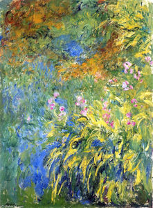 Claude Monet - Irises 3