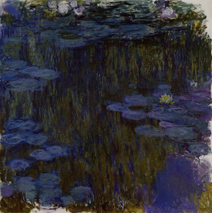 famous painting Water Lilies (56) of Claude Monet