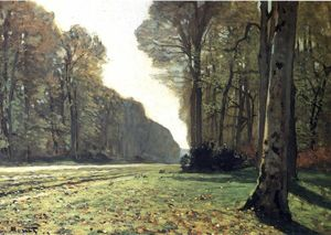 Claude Monet - The Pave de Chailly in the Forest