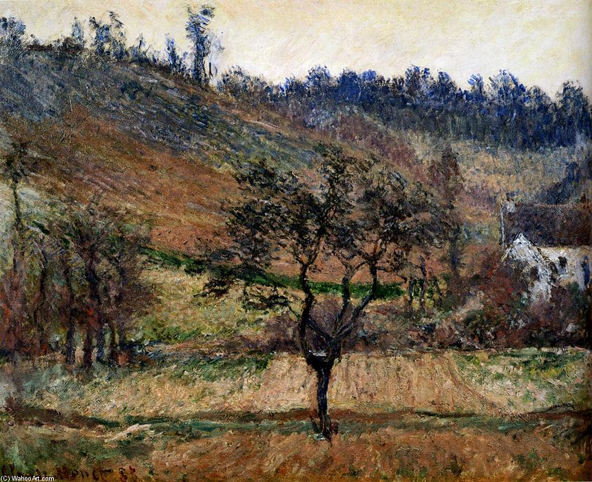 famous painting The Valley Of Falaise of Claude Monet