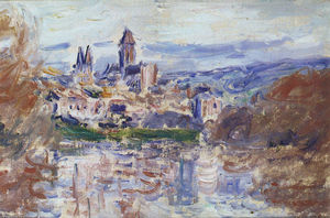 Claude Monet - The Village of Vetheuil