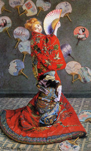 Claude Monet - Japan's (Camille Monet in Japanese Costume)