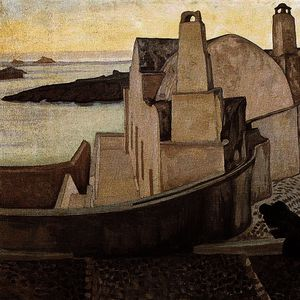 Konstantinos Maleas - House at Santorini