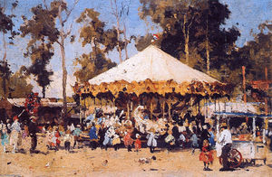 Cornelis Vreedenburgh - Fair In Laren