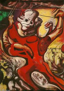 David Alfaro Siqueiros - The March of Humanity (detail)