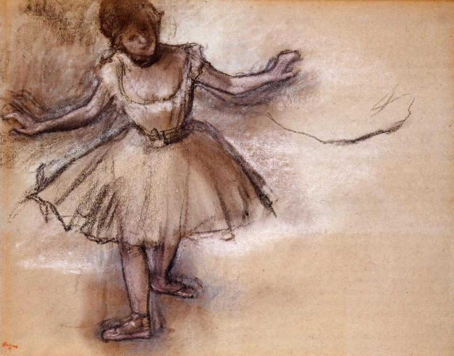 famous painting Dancer of Edgar Degas