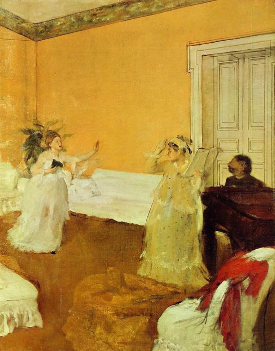 famous painting The Rehearsal of Edgar Degas