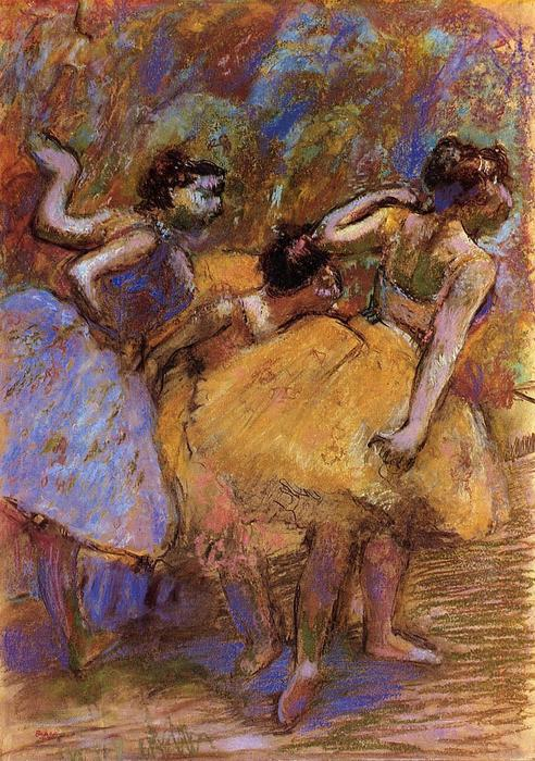 famous painting Dancers of Edgar Degas