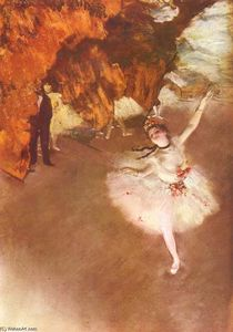 Edgar Degas - The Star (Dancer on Stage)
