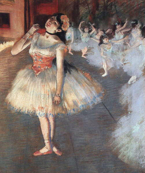 famous painting The Star of Edgar Degas