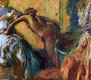 Edgar Degas - After the Bath (10)